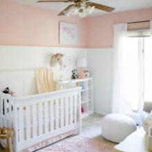 photo of Millennial Pink Nursery