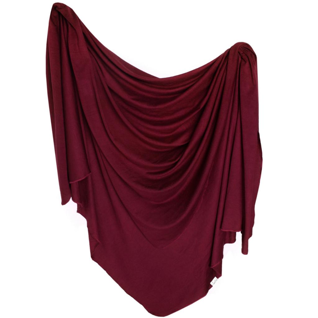 Ruby Knit Swaddle Blanket - The Project Nursery Shop