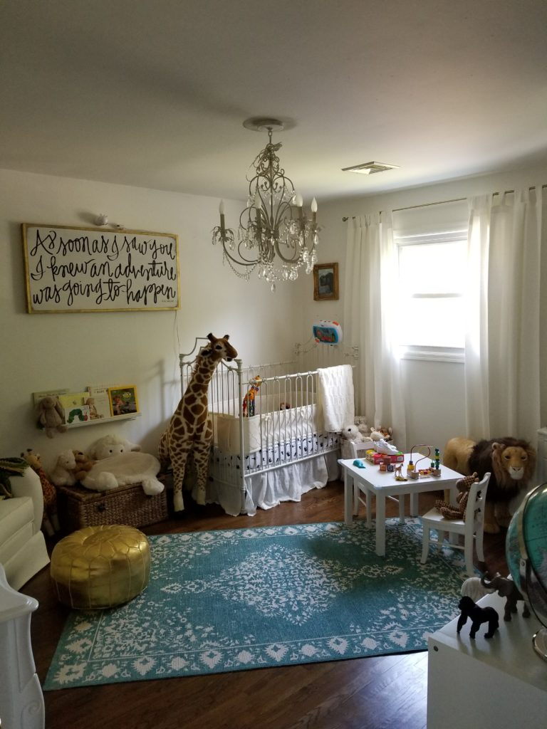 Neutral Animal Themed Nursery Project Nursery