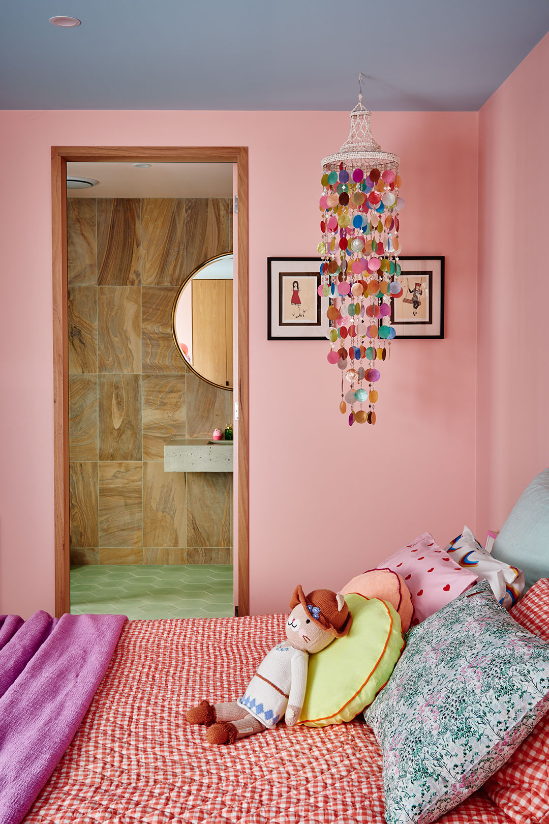 Colorful Pink Girl's Room