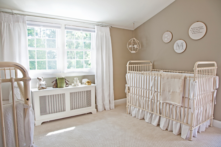 Neutral Twin Nursery