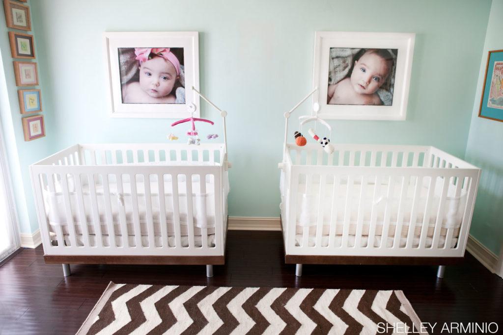 Raya + Mason's Twin Nursery