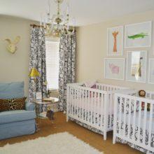 photo of Boy/girl Twin Nursery