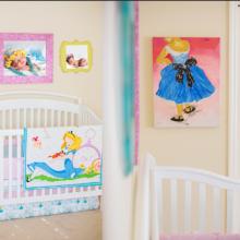 photo of Nursery in Wonderland | Shabby Chic Meets Wonderland