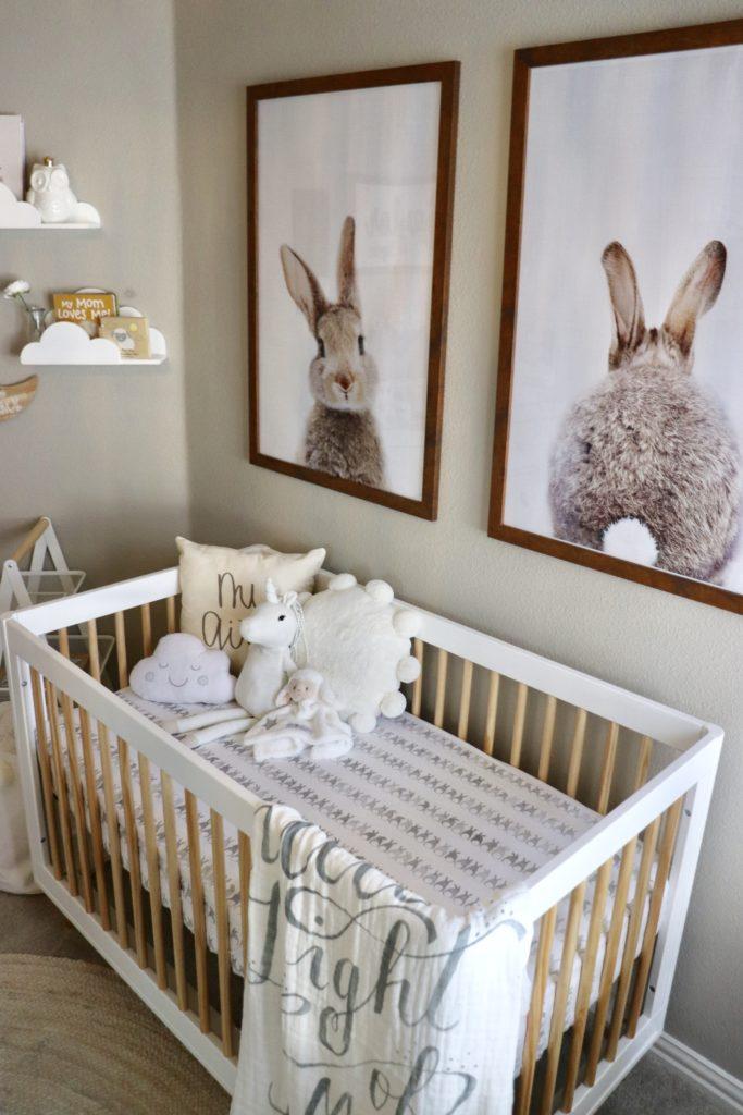 Neutral Nursery Themes Ideas: Classic Baby Girl Nursery
