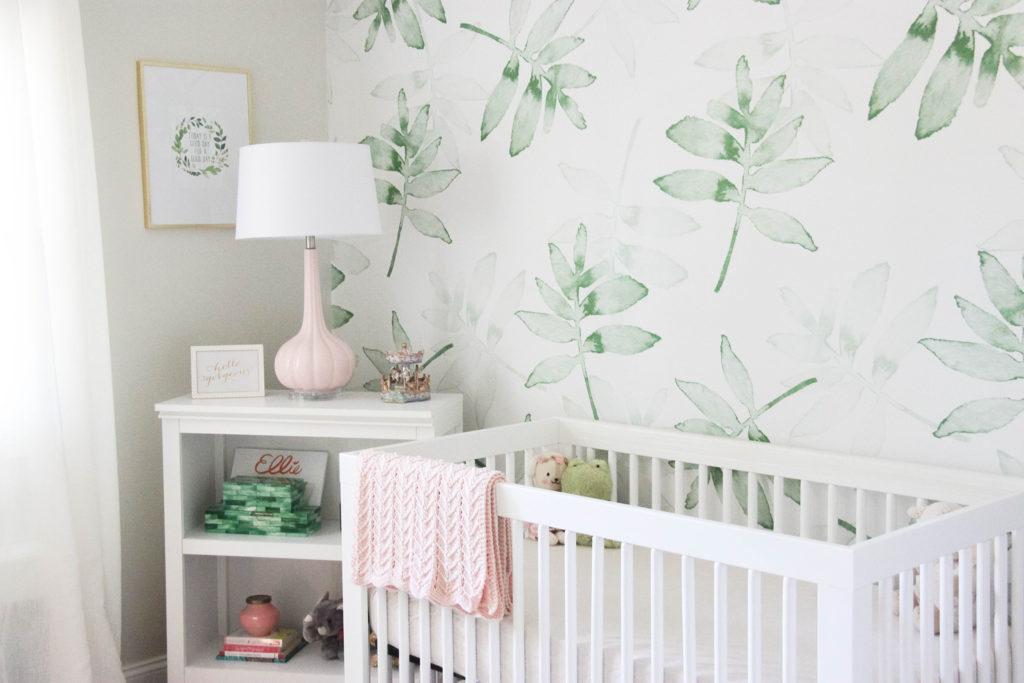 Subtle Tropical Inspired Nursery