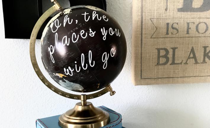 DIY Quote Globe