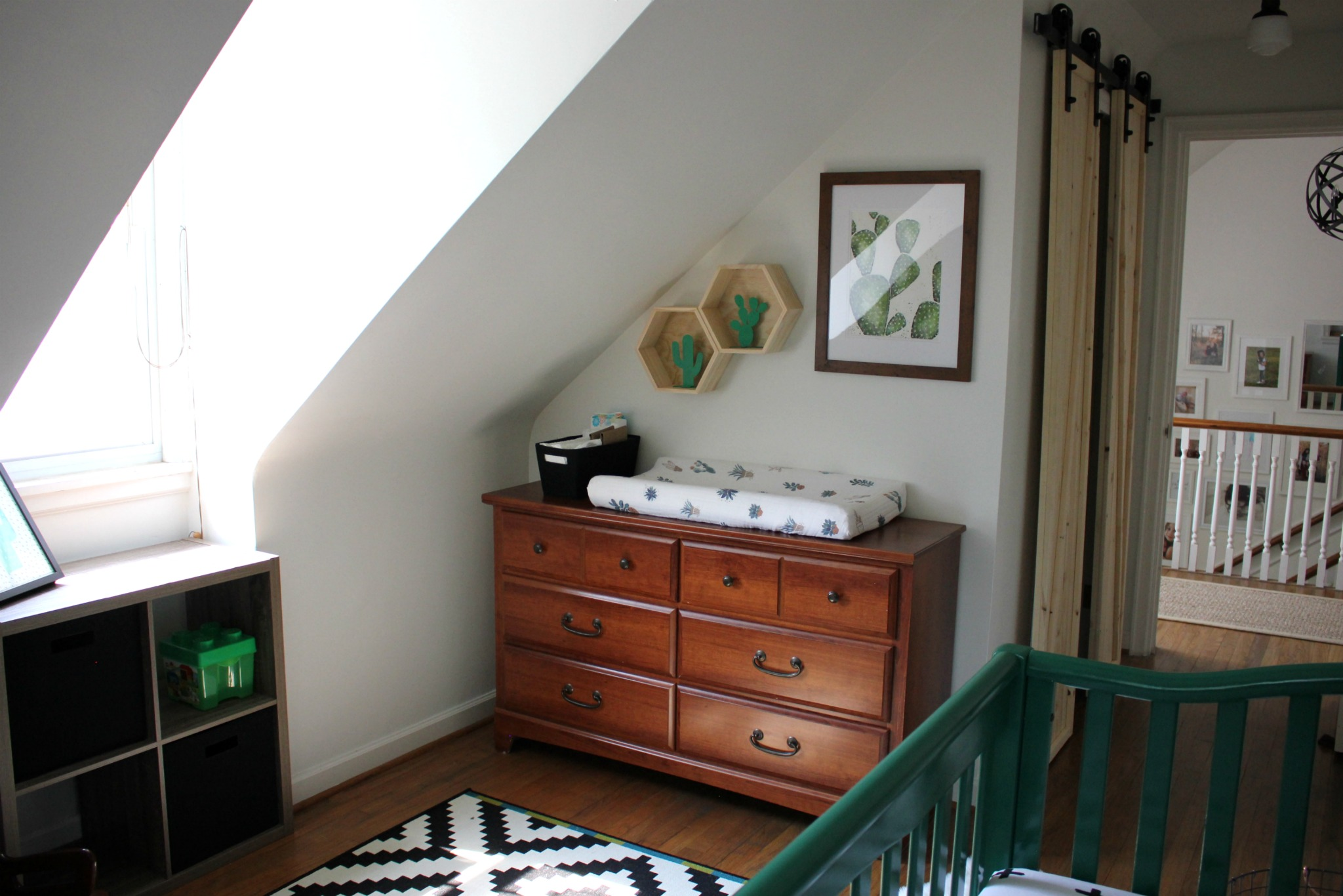 Cactus Themed Boy's Nursery