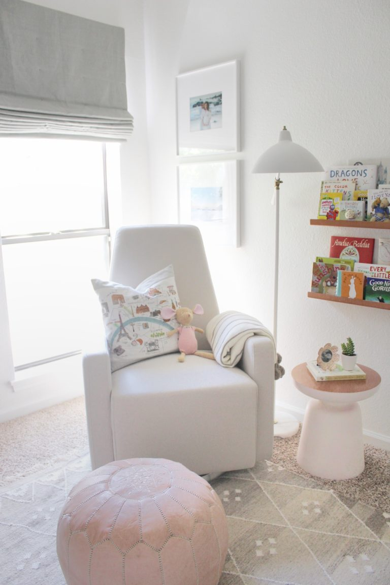 Serene, Neutral Girl Nursery inspired by Nature