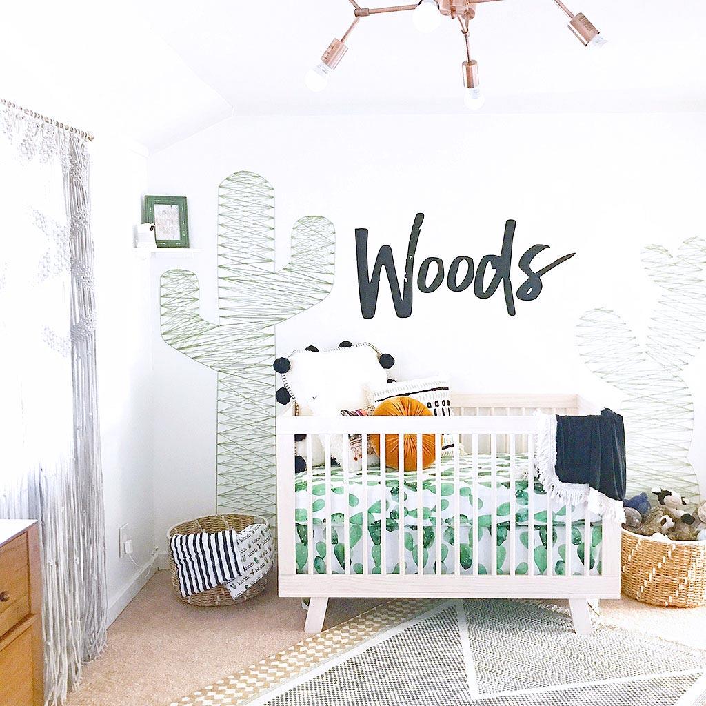 Chambre cactus pour bébé