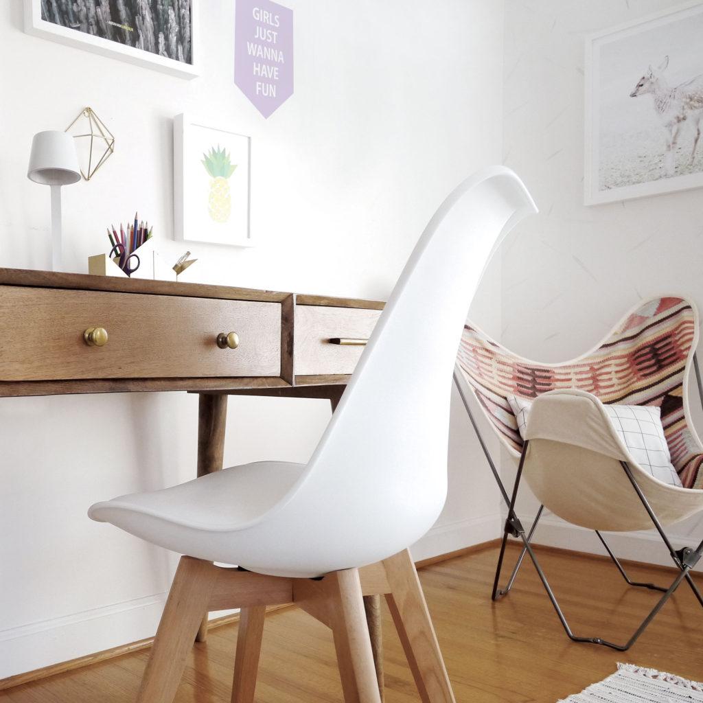 bohemian inspired room