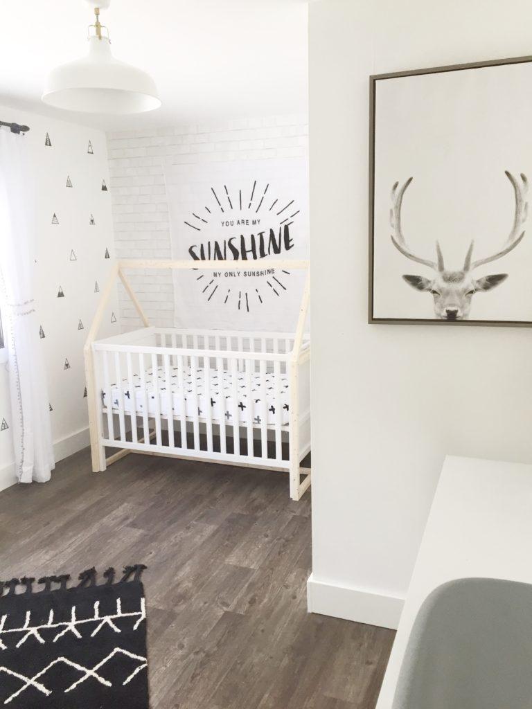 Everything Designish Baby Boy S Nursery: Monochromatic Nordic Boys Nursery