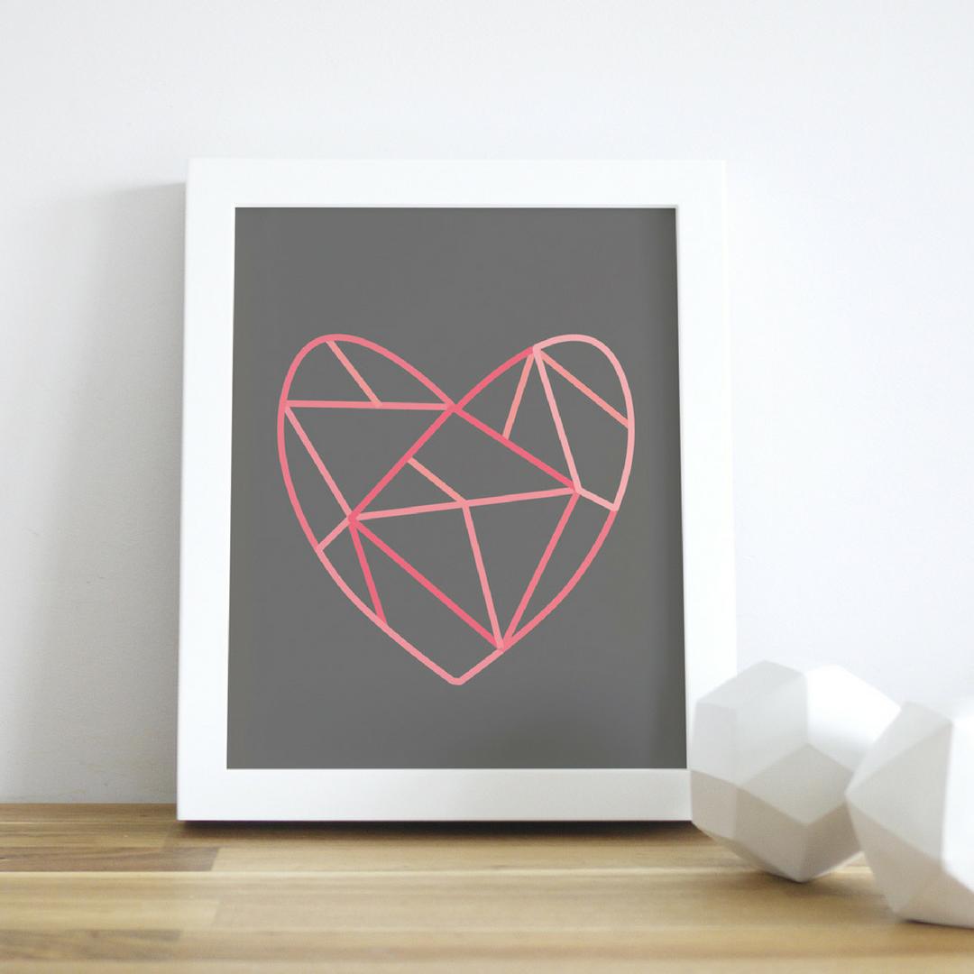 project nursery shop Trendy_Peas_Puzzled_Heart_Wall_Art_Framed_-_Project_Nursery