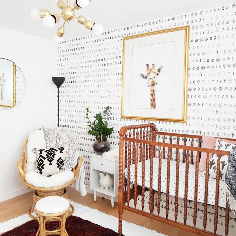 A Bright and Modern Boho Nursery