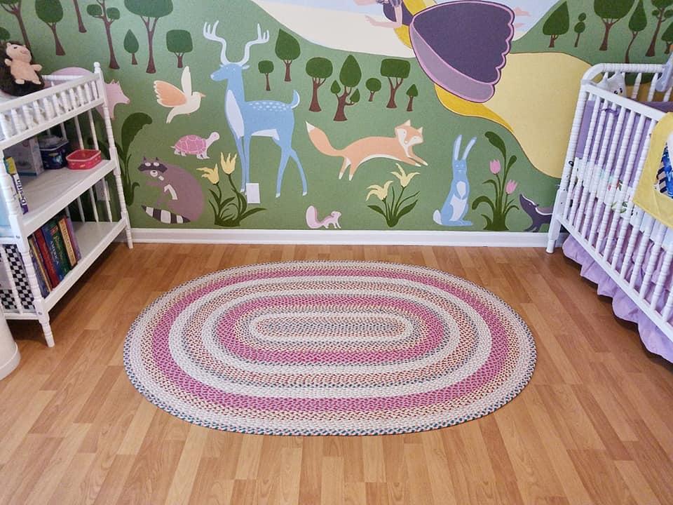 Rapunzel Inspired Nursery Project Nursery
