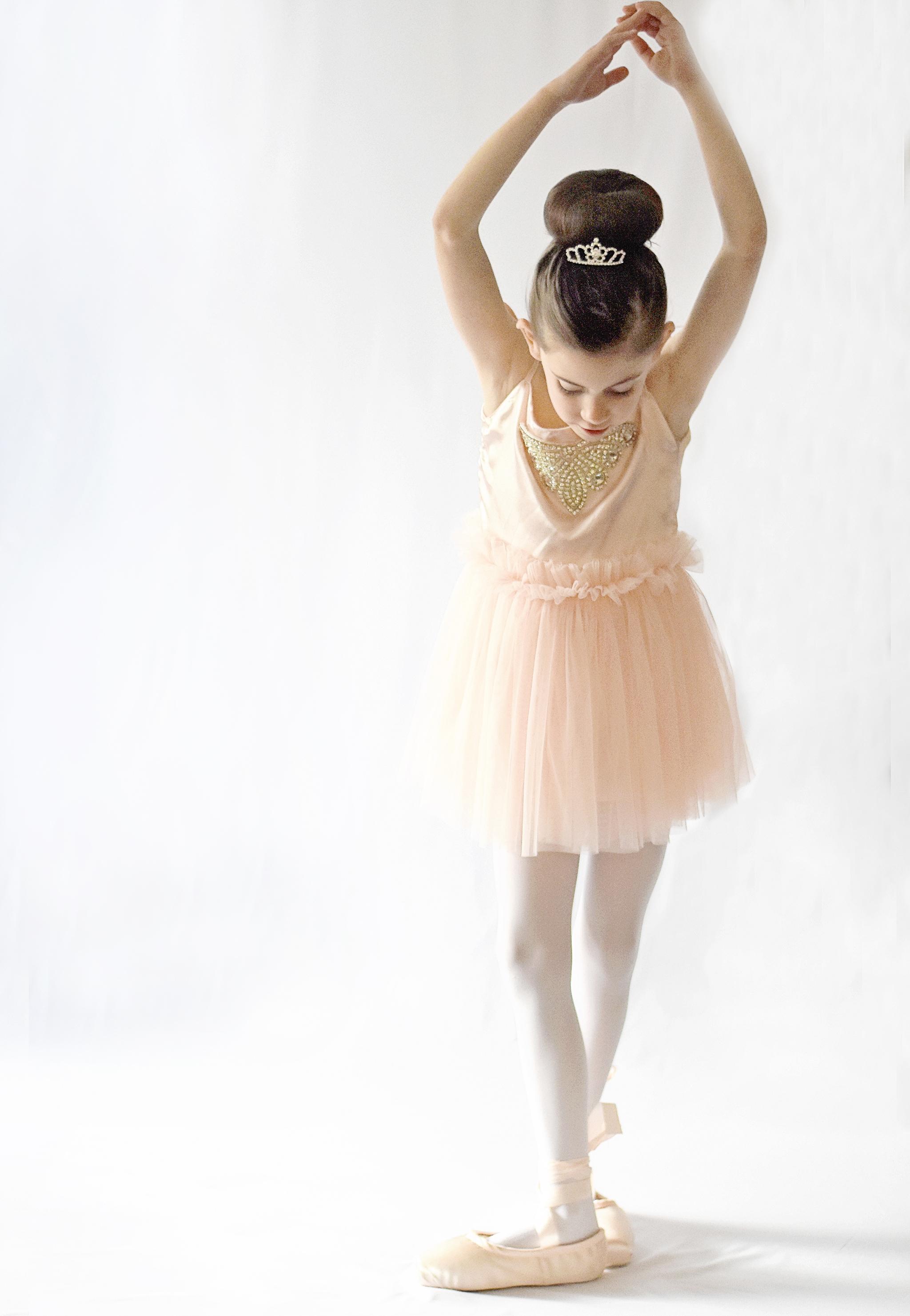 Little girls dream of being ballerinas!