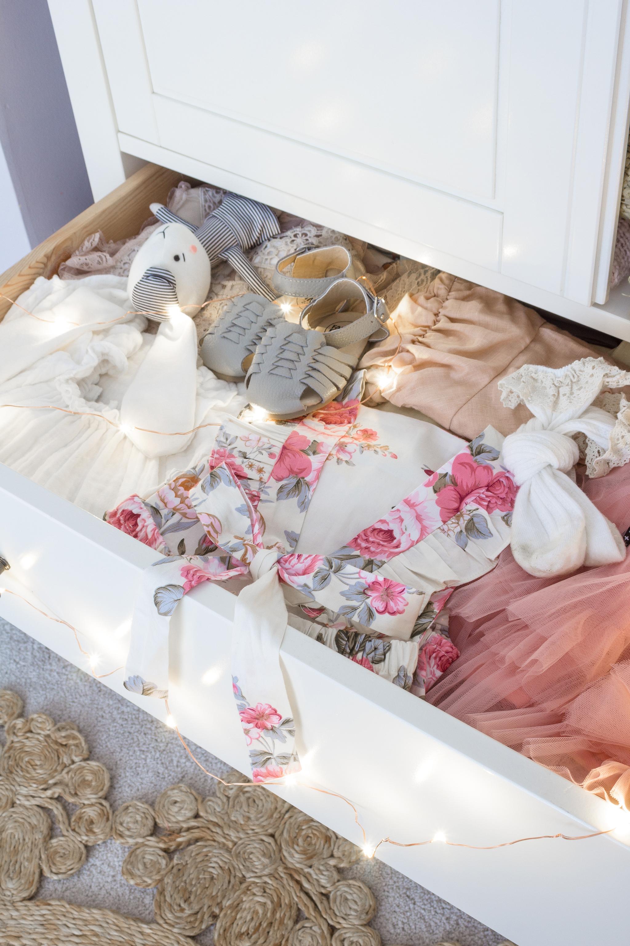 Floral Girl's Toddler Room
