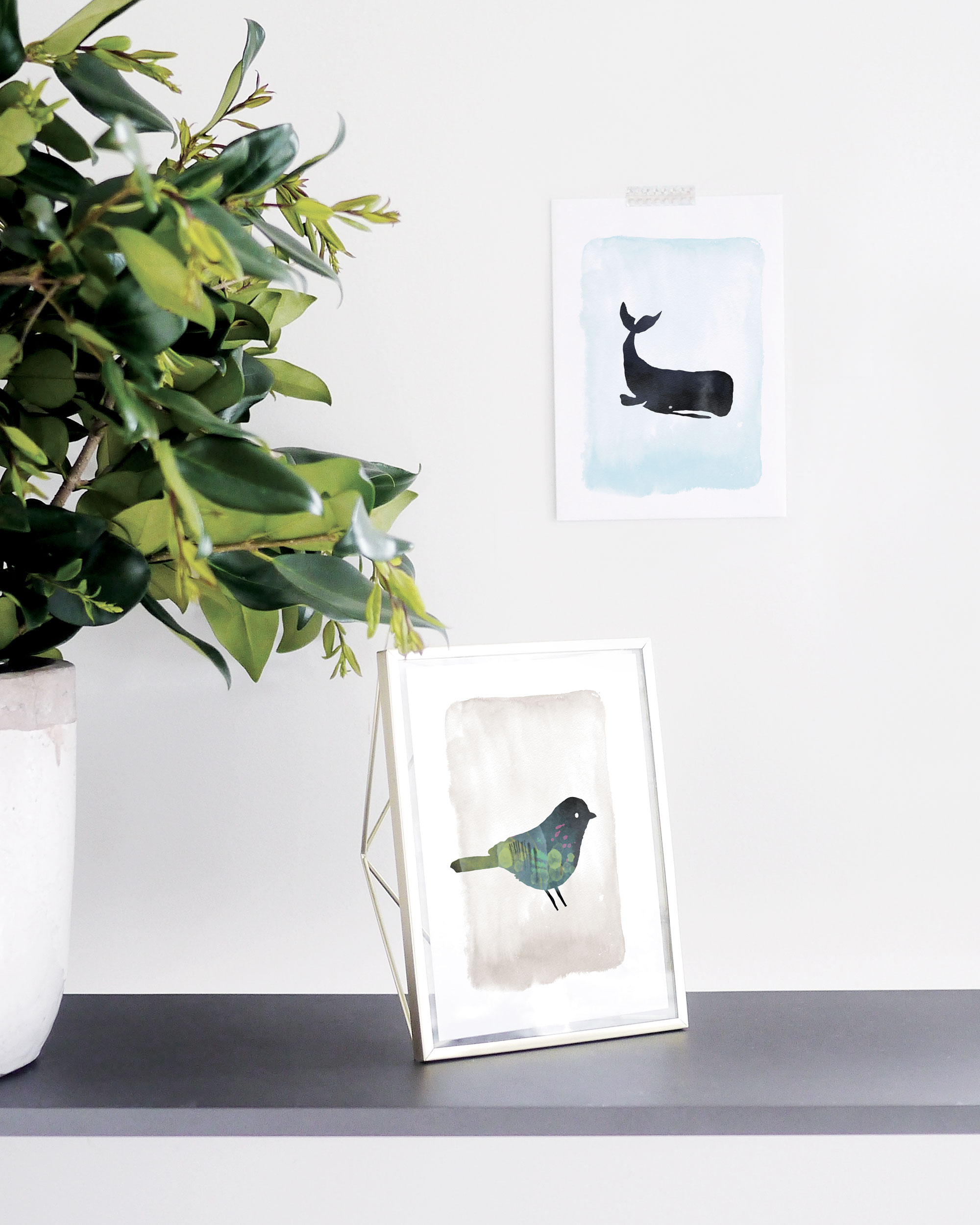 3 Free Printable Art Prints