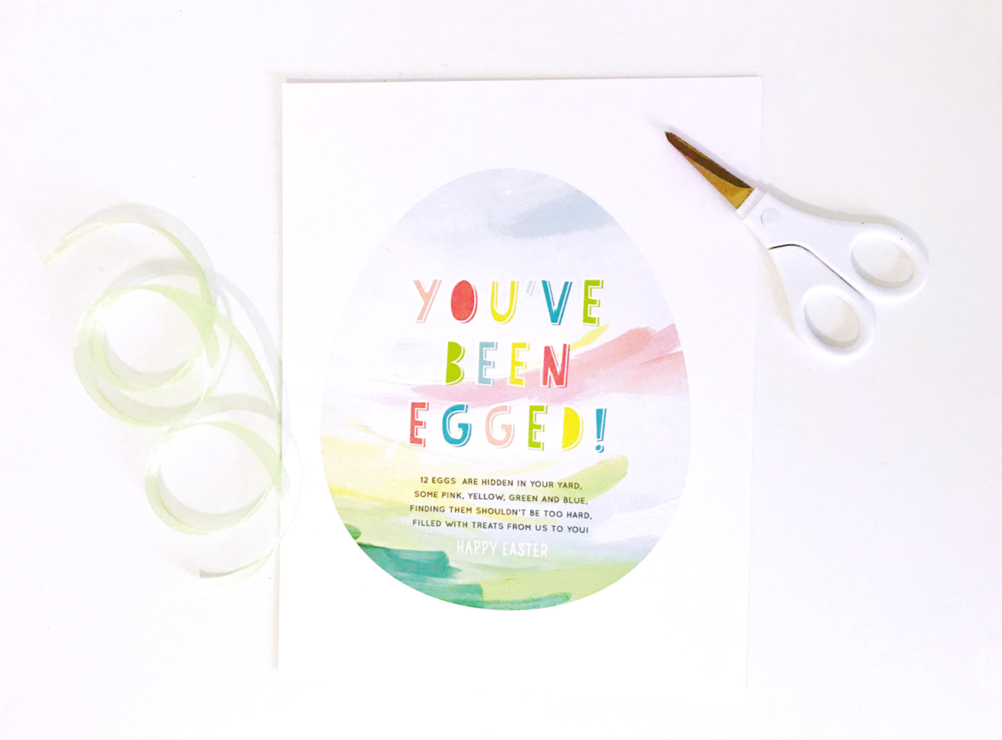 photo about You've Been Egged Printable referred to as Youve Been Egged! A Entertaining Easter Marvel - Undertaking Nursery