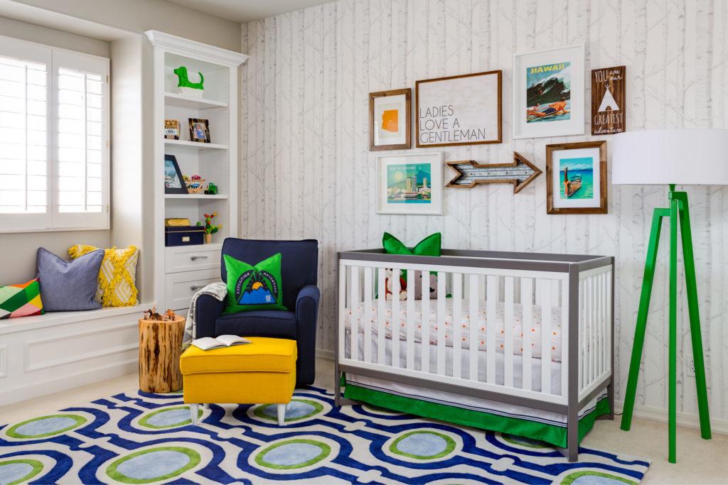 Modern Travel Inspired Nursery