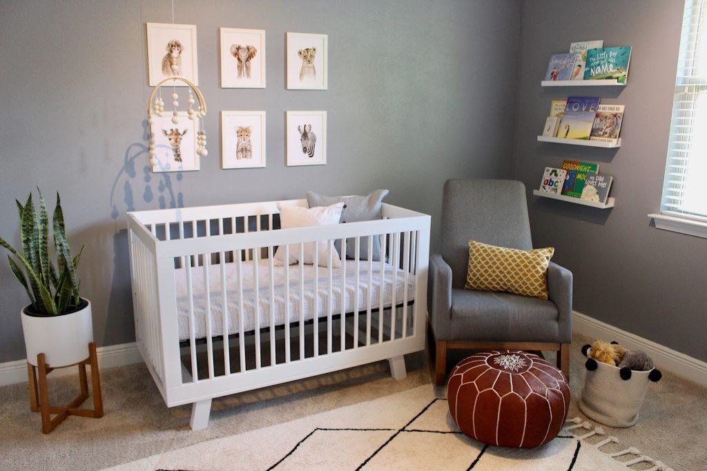 Simple Modern Nursery - Project Nursery