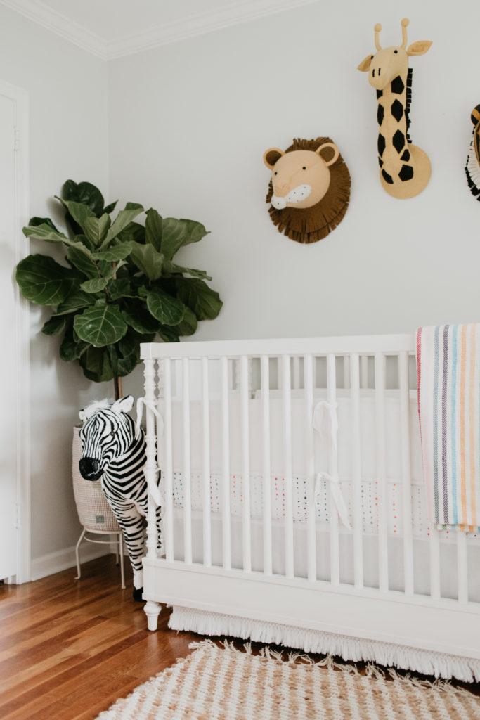Neutral Hamptons Safari Nursery Project Nursery