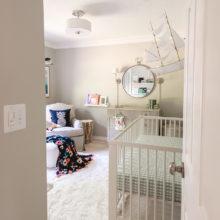 photo of Baby Elle's Eclectic Coastal Nursery