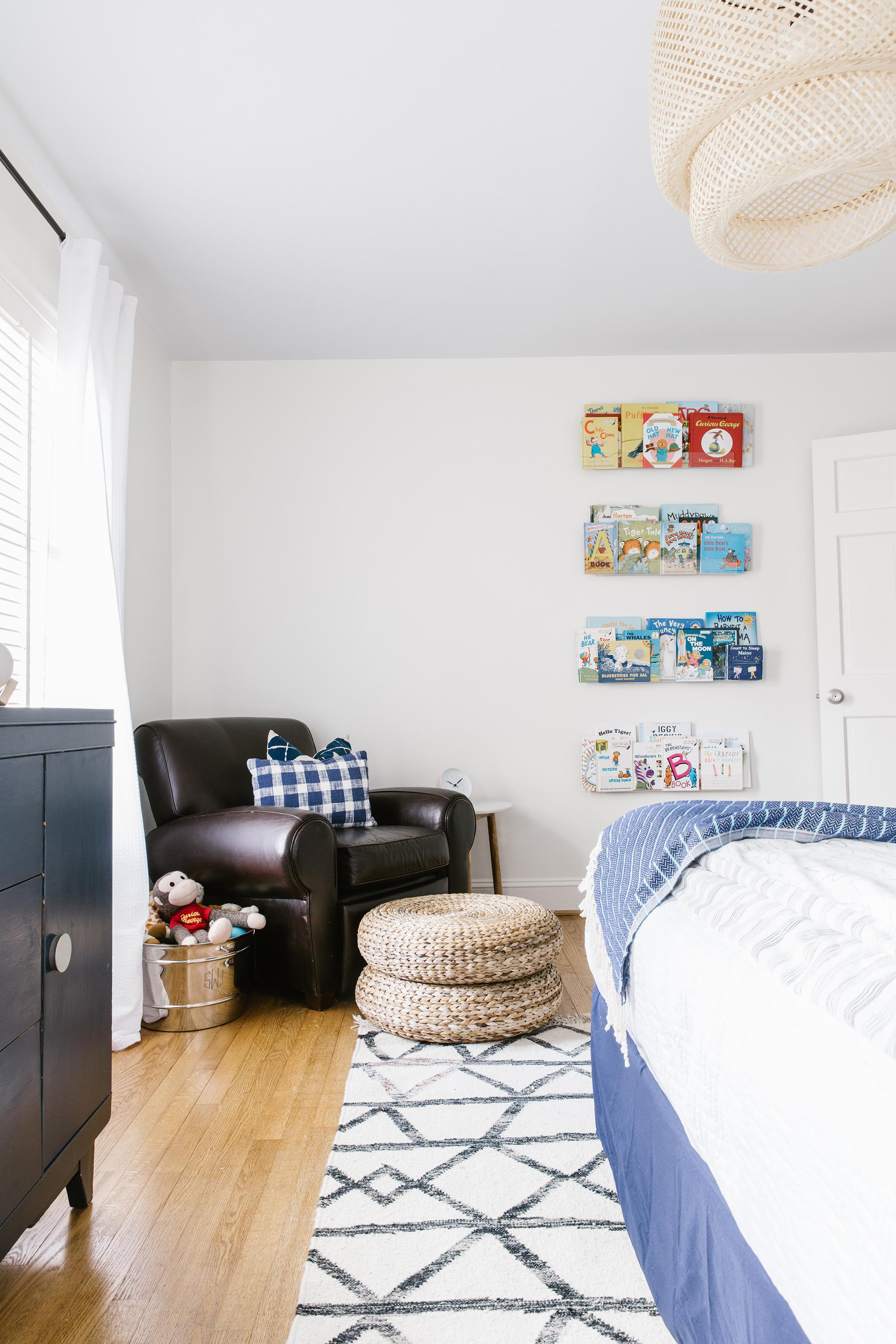 Big Boy's Room with Rattan Trend