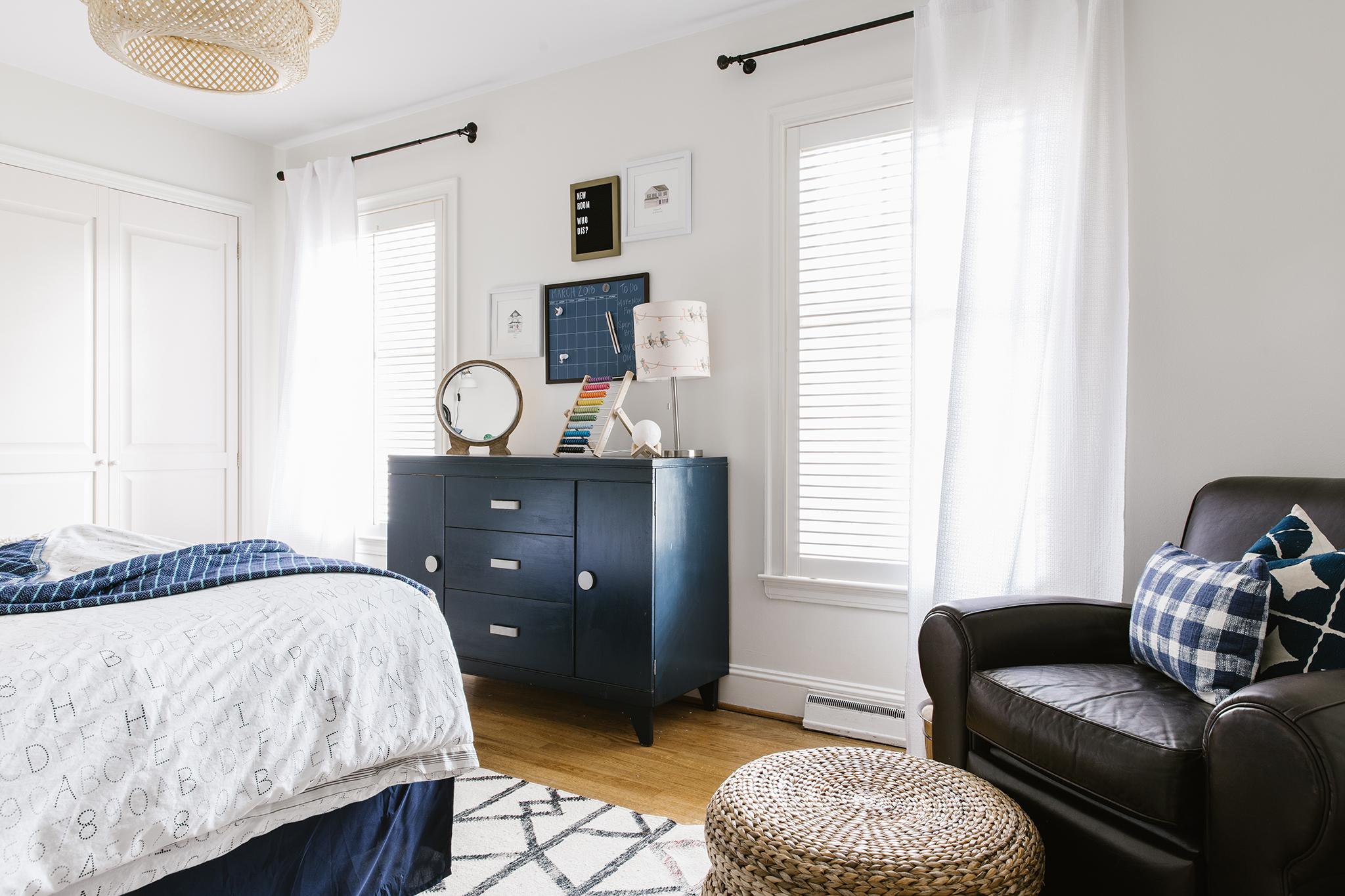 Vintage Inspired Big Boy's Room