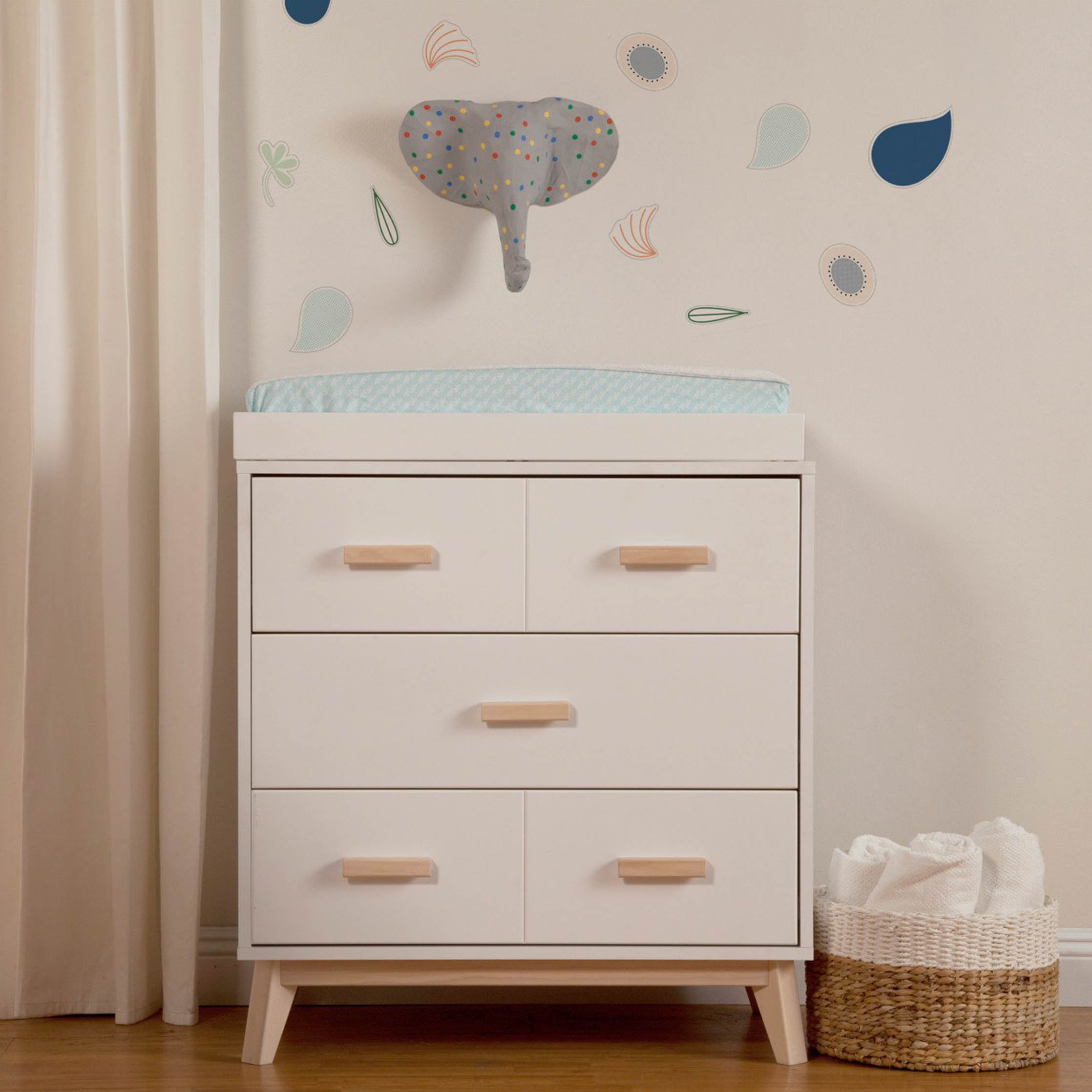 Scoot 3-Drawer Dresser Changer