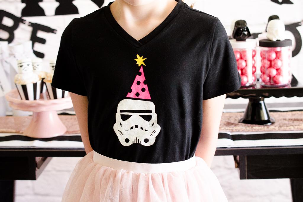 Star Wars Birthday Party Shirt