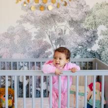 photo of West Hollywood Mod Boho Nursery