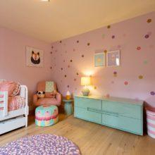 photo of Pretty Pink Sprinkles Girls Room