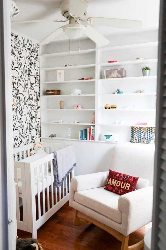 Tiny Brooklyn Nook Turned Nursery Project Nursery