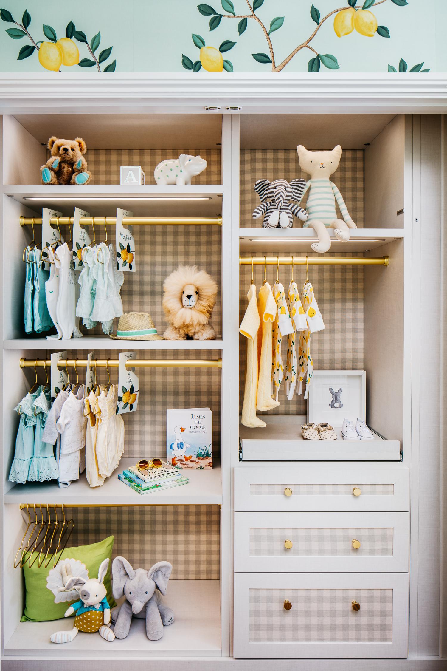 Custom Nursery Closet