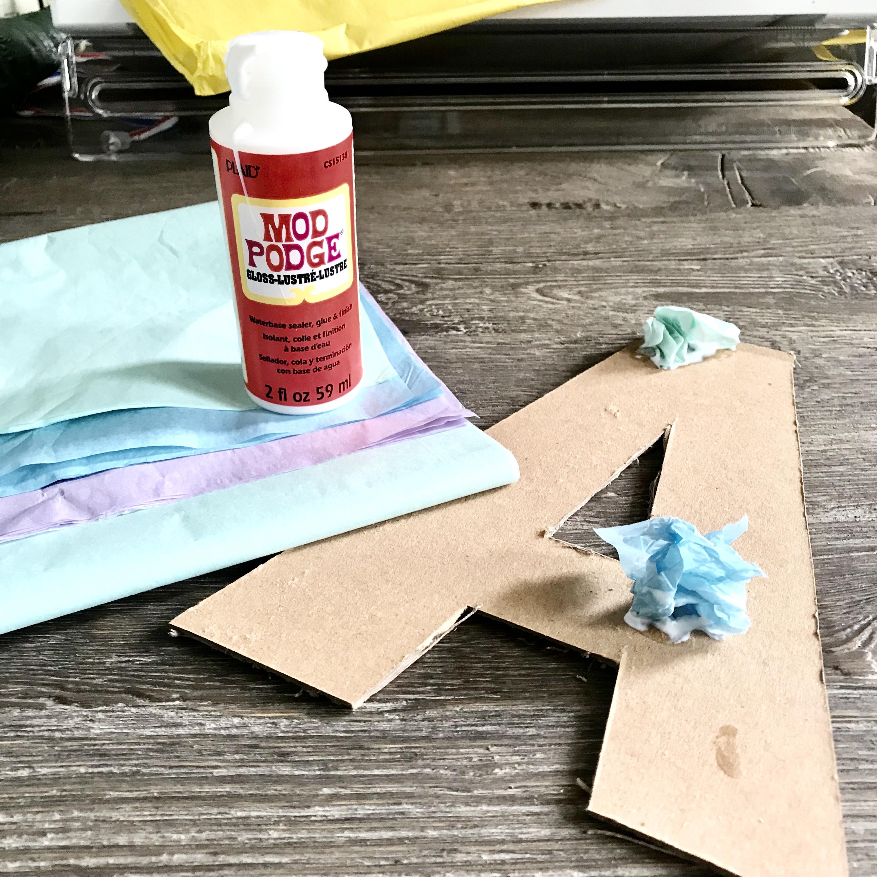 DIY Letter Art