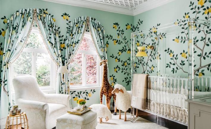 Lemon Drop Lullaby Showcase Nursery