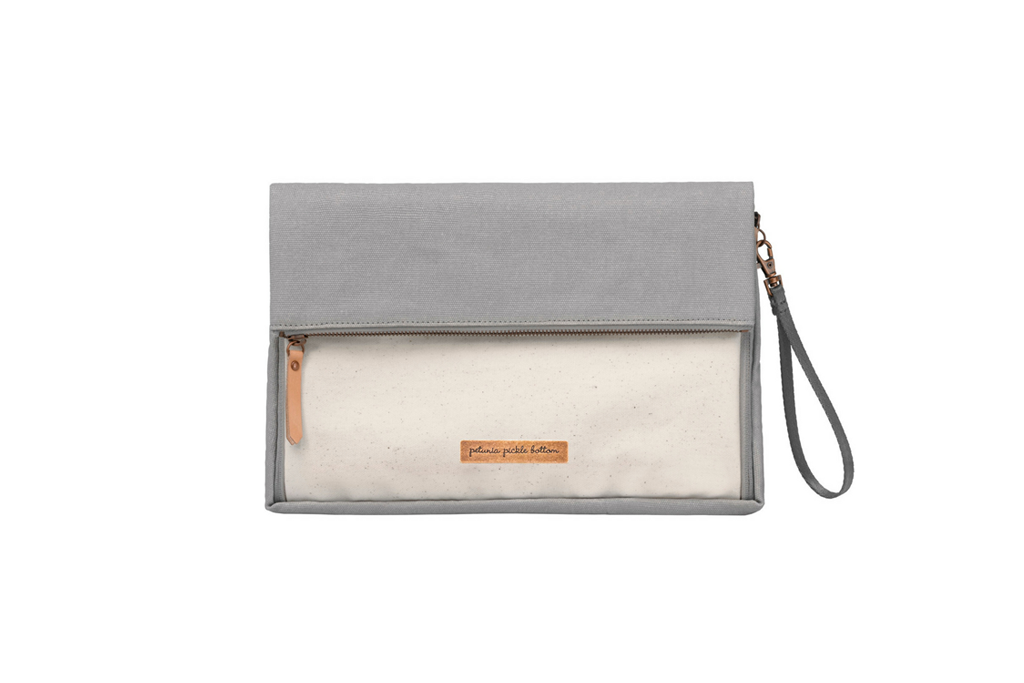 Crossover Clutch in Stone