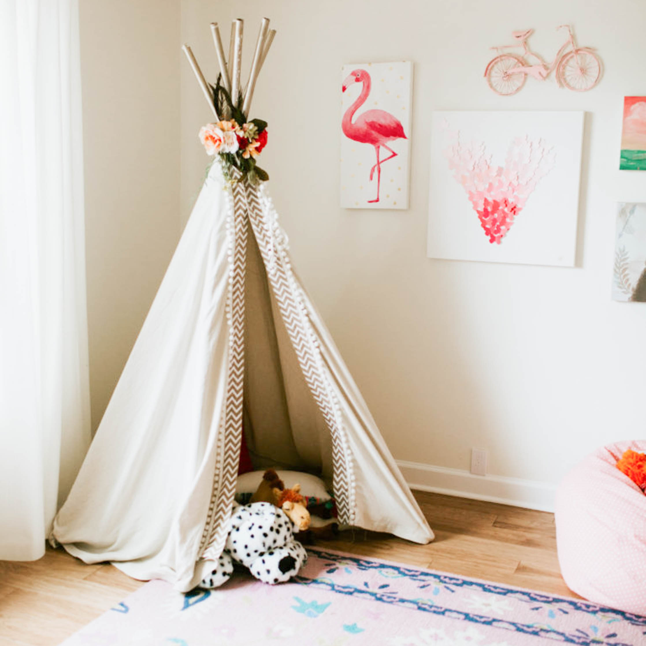 Pretty in Boho Pink Nursery