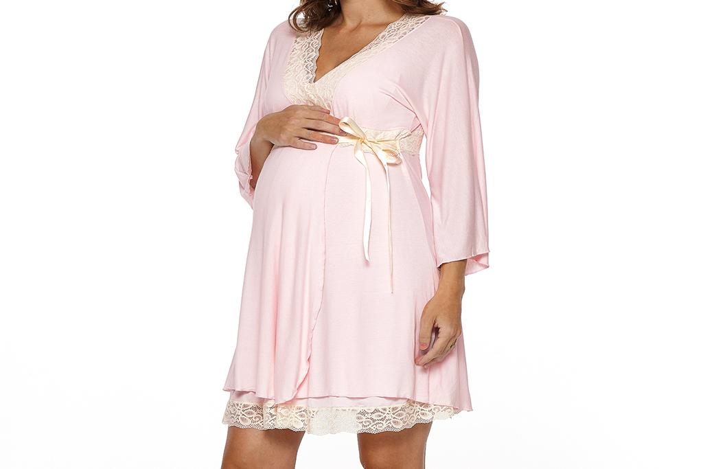 Lotus Maternity Nursing Robe