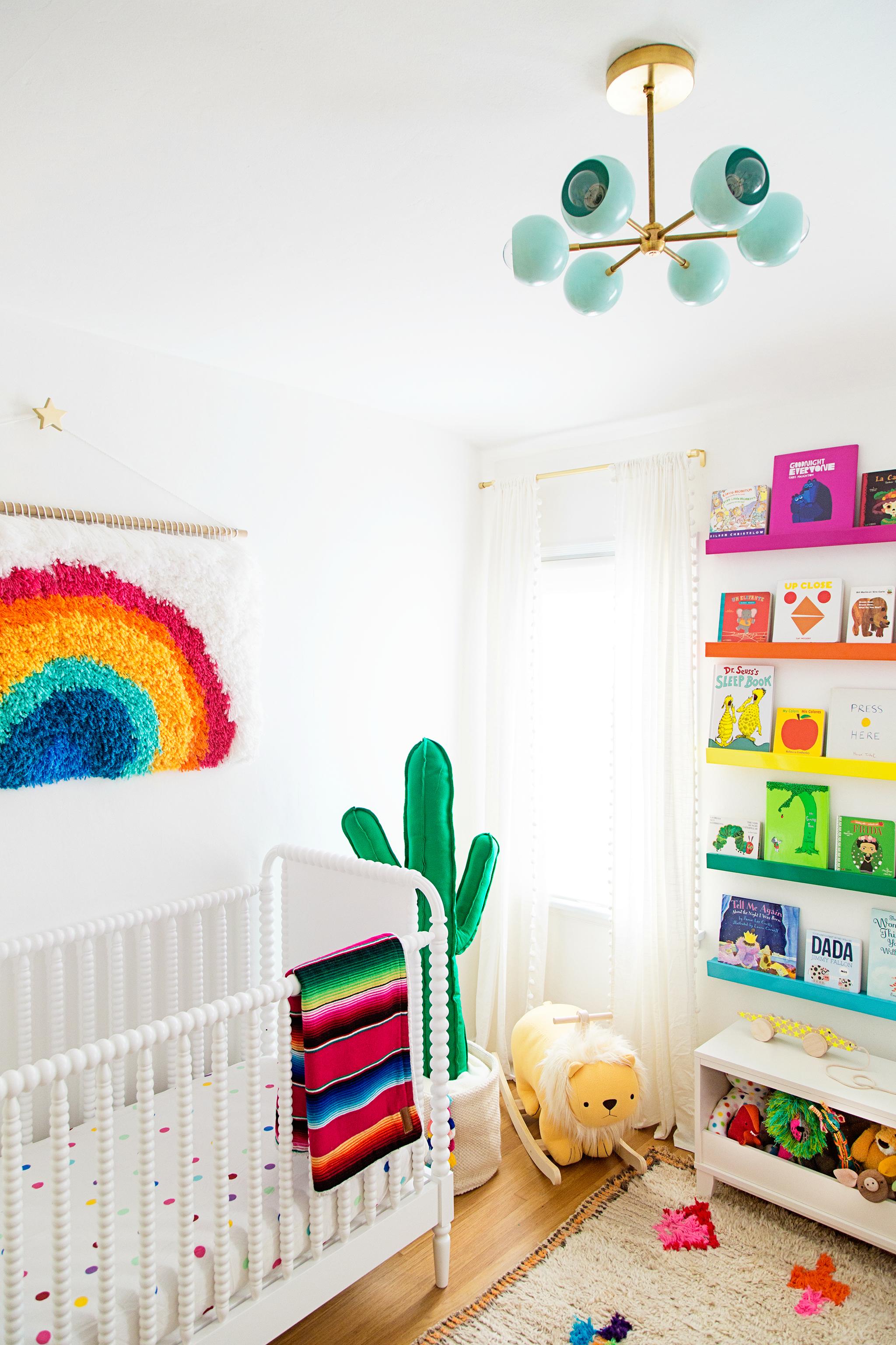 Rainbow Playroom Art