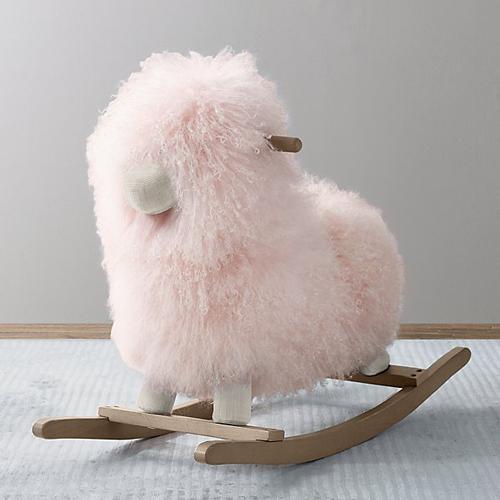Pink Lamb Rocker