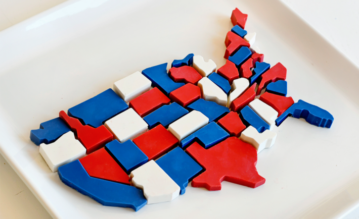DIY USA Candy Map