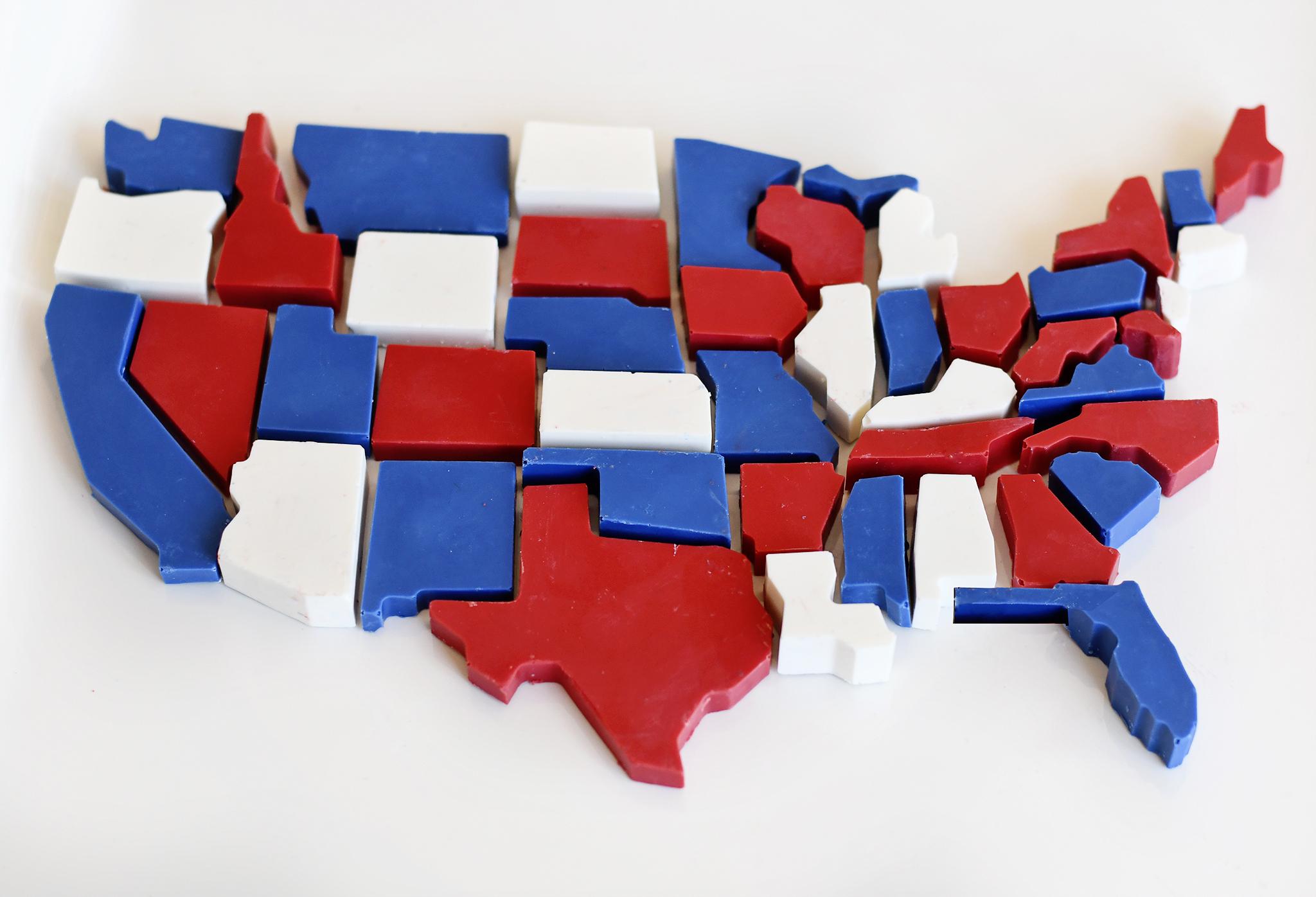 DIY USA Candy Map