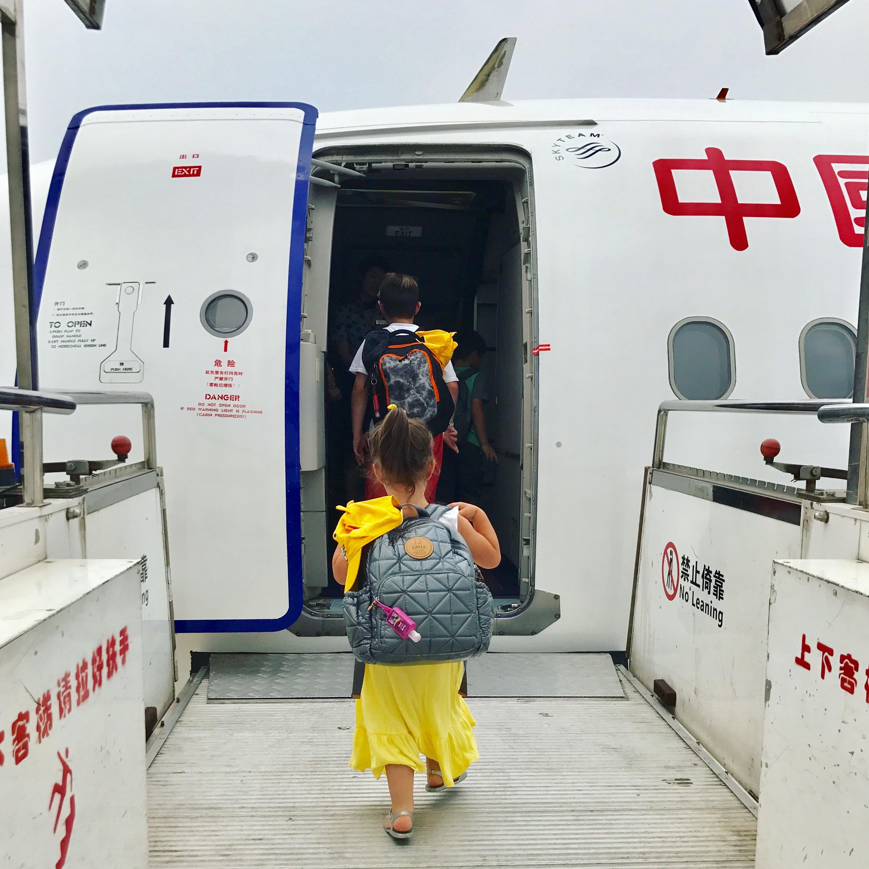 Family Trip to Asia