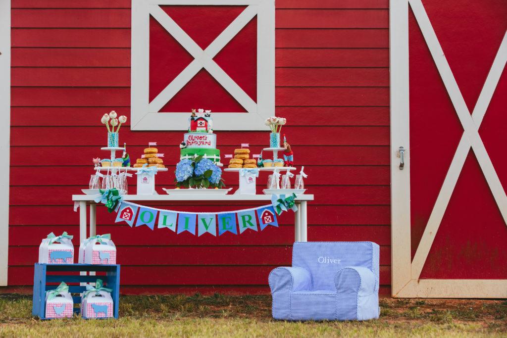 Preppy Barnyard Bash Birthday