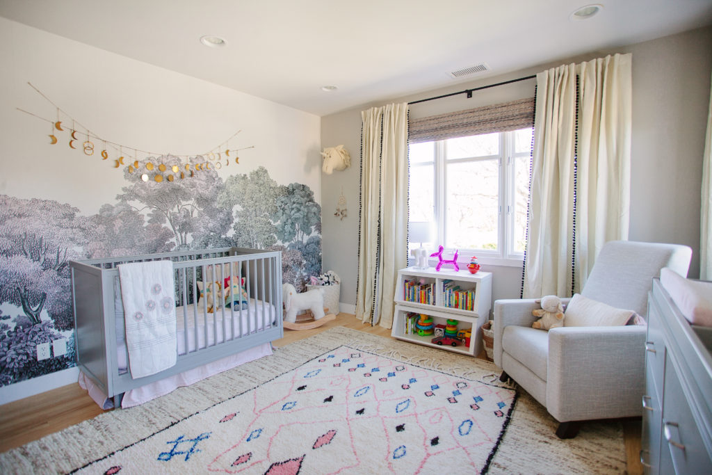 West Hollywood Mod Boho Nursery