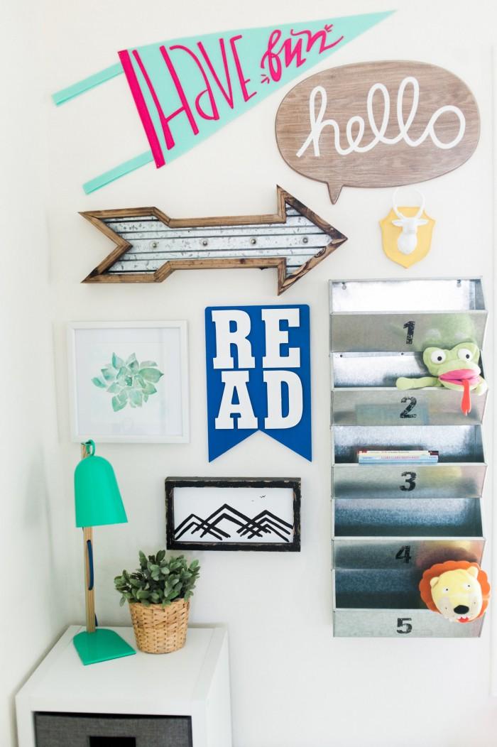 A Colorful Boho Playroom with Room to Grow
