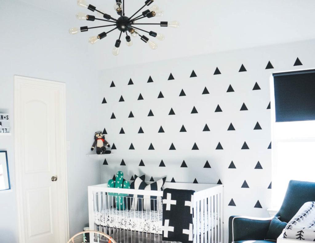 Ashton's Modern Monochrome Nursery