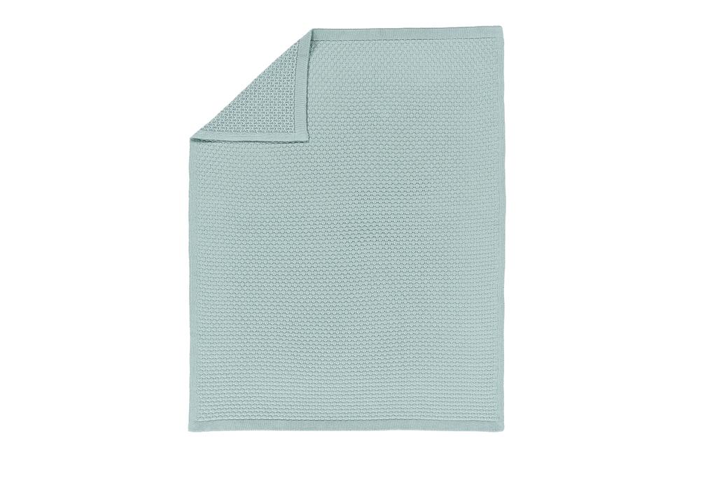 Hexagon Knit Blanket